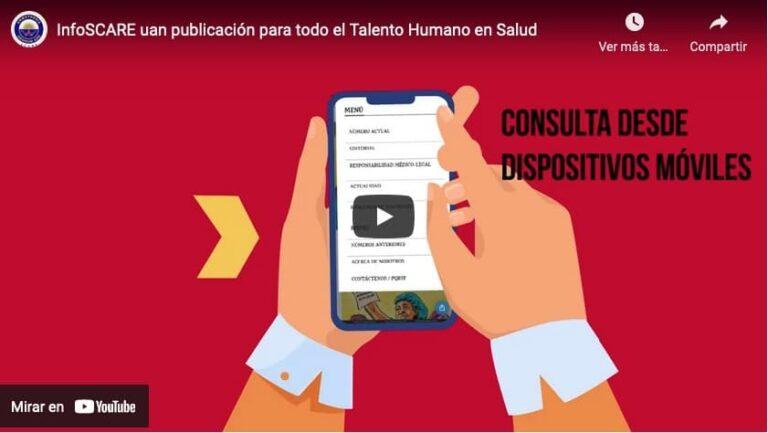 InfoSCARE uan publicación para todo el Talento Humano en Salud